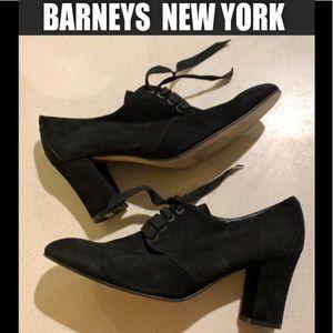 🗽BARNEYS NEW YORK suede booties